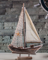 Classcial Mediterranean Sea Style Boat Arts And Crafts Model Fishing Boats
