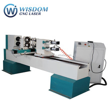 WS-L1516 Automatic wood CNC lathe with double axis