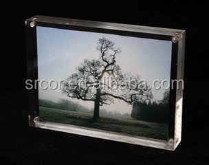 gorgeous acrylic 2015 hot sale sixy photo/picture frame