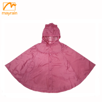 China factory spring autumn baby raincoat with buttons Children's dress coat