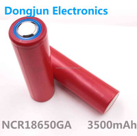 Electric Vehicle 18650 battery for San-yo NCR18650GA Lithium Ion battery, 10A high discharge current