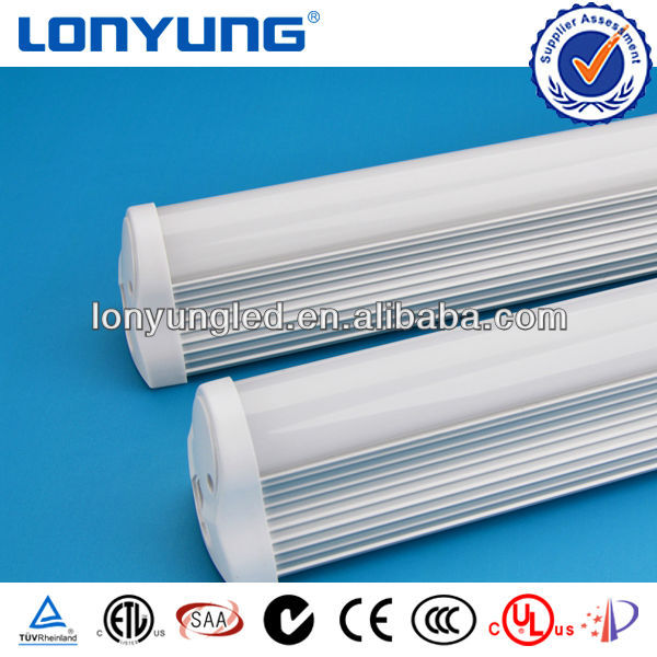 waterproof luminaires IP65 Approved led t8 integrative tube light 1500mm 5ft 25w