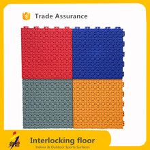 CE Standard indoor and outdoor indoor table tennis floor mat / pp sport floor