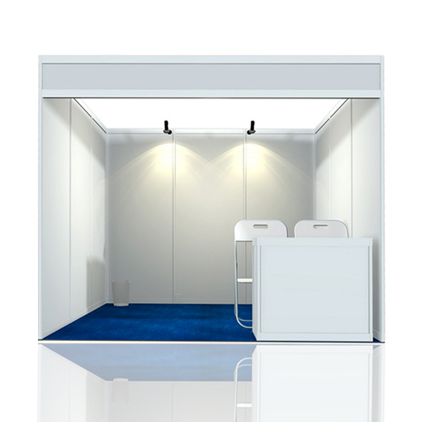 Basic Exhibition Booth : Aluminum standard exhibition system trade show display