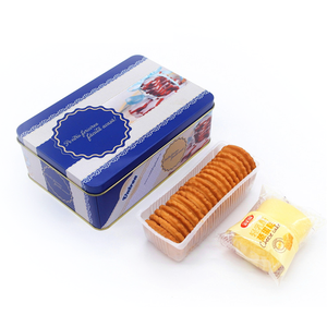 metal biscuit tin box packaging box for biscuit ,candy,food