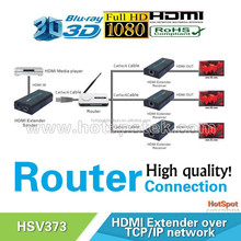 LKV373 120m Point to Point /Broadcast/Point to MultiPoint/Cascade mode wireless HDMI Extender/ hdmi to ethernet converter