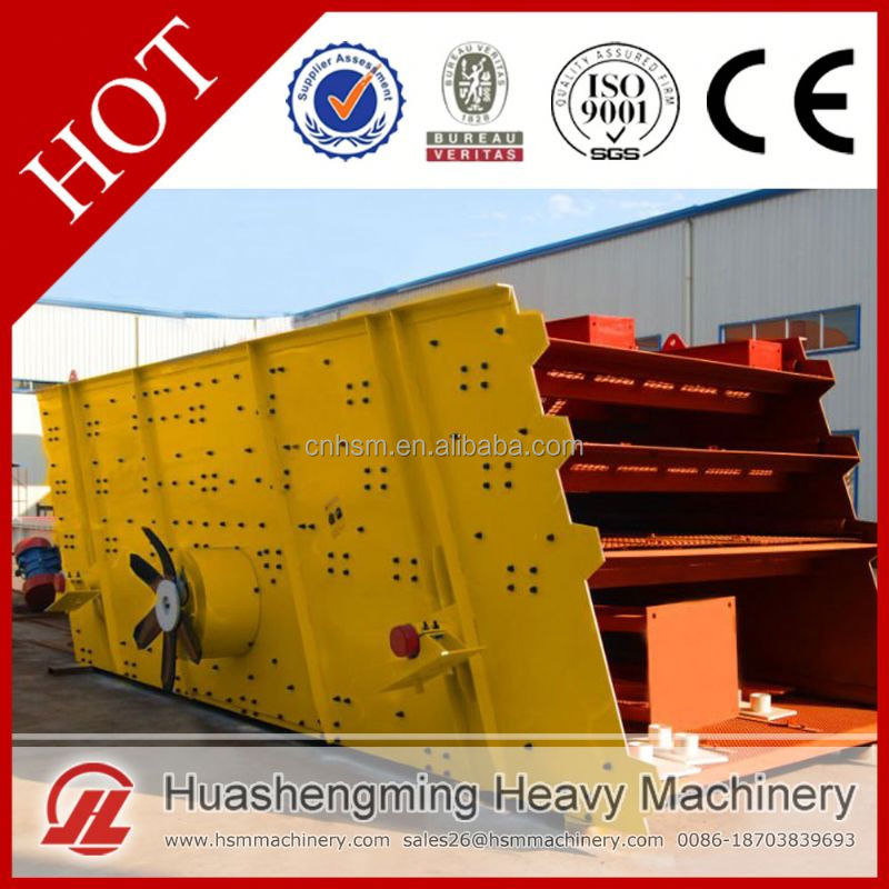 HSM Professional Best Price Vibrating Screen For Fertilizer Sieving
