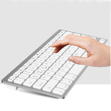 new design slim wireless bluetooth keyboard 2.4 ghz mini wireless keyboard for android