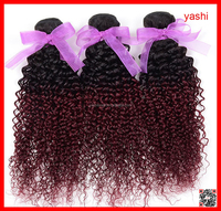 Yashi Especially virgin human hair extensions omber color