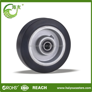 Chinese products wholesale 16 inch work pneumatic rubber wheel