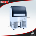 80Kg/24h Stainless Steel Mini Ice Maker,Commercial Portable Ice Maker,220V Portable Ice Maker