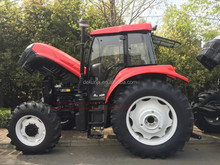 Promotional Price New 130HP Agricultural Farm Walk 4WD Compact Wheel Tractor With Cab