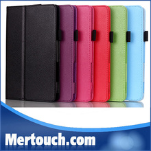8 colors book folio 8 inch leather cases for dell venue 8 pro tablet, For Dell venue 8 pro case