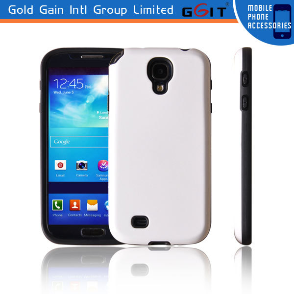 Hard back cover case for samsung s4 I9500 tpu+pc case, for samsung s4 i9500 tpu back cover
