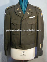 Wool Fabric for Military Ceremony Uniform Officer Suits