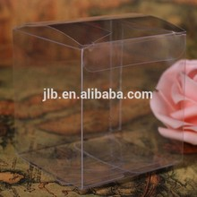 Hot sale sweet Clear pvc packaging box , 3x3 pvc box