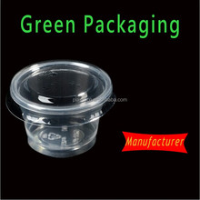 hot sale disposable plastic wine tasting cup,mini plastic dessert cup with lids