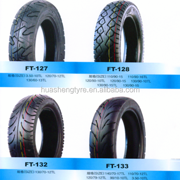 Motorcycle Tubeless tire 130/60-13 TL