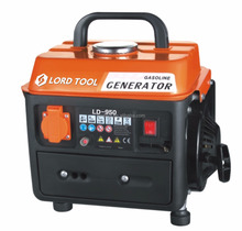 Portable silent Power gasoline gas 950 manual generator