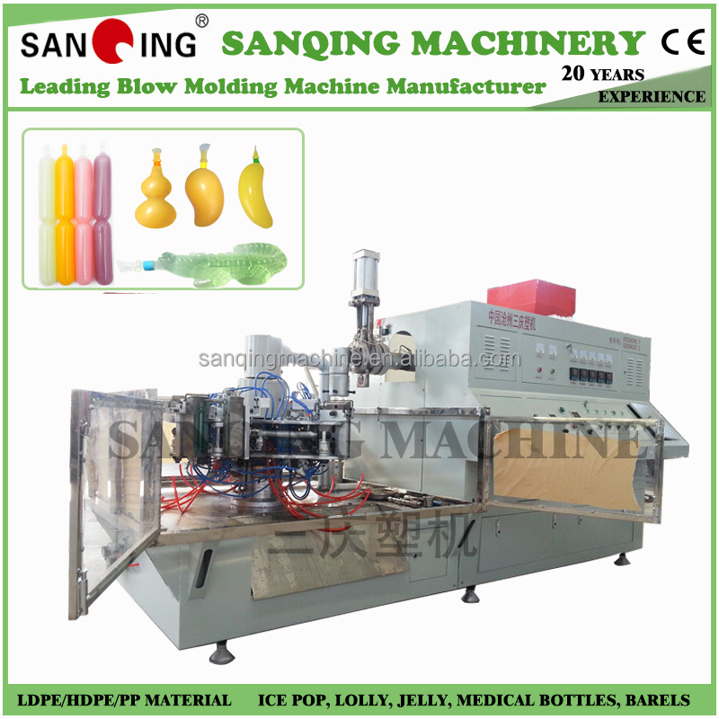 ice lolly juice tube/ soft juice tube blowing moulding machine
