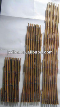 Decorative Bamboo Fencing Expandable Bamboo Lattice Fence