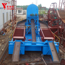 Hot sale bucket chain gold dredger price