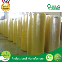 free sample golden supplier stretch film jumbo roll with waterproof for Carton sealing