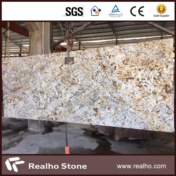 New Cream Gold Giallo Venziano Fiorto Granite Colors For Flooring / Wall / Countertop