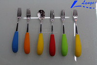 Mini stainless steel spoon and fork high quality customized spoon and fork from china's manufacture