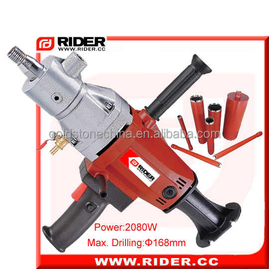 2080w 168mm hilti construction core drill machine ,deep hole drilling machines