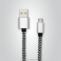 VBEST hot selling 1.2M quick charging braided micro usb cable