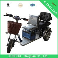 electric passenger three-wheel motorcycle made in china