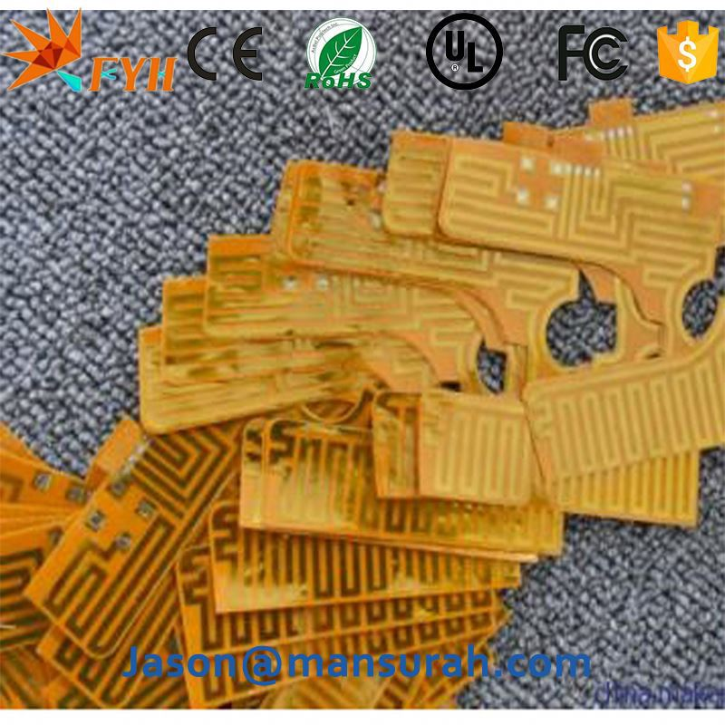 Wholesale Electric Aluminium Kapton Polyimide Foil Heater 12V