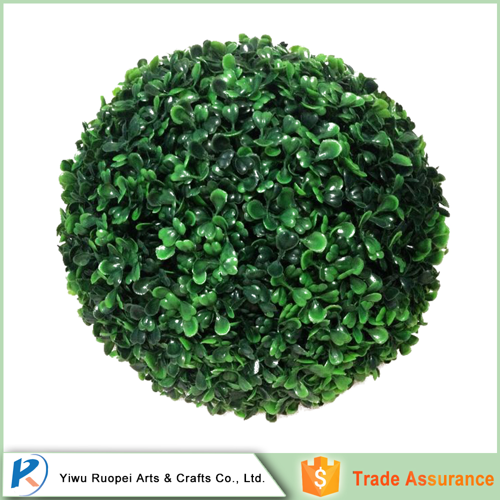 Alibaba China Wholesale artificial boxwood hedge grass ball