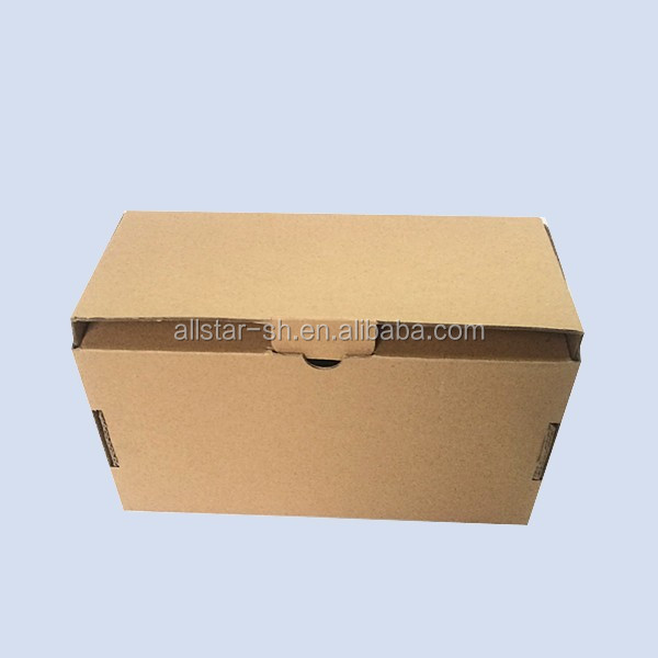 New product custom printed kraft paper corrugated packaging mini shoe box