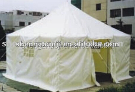 outdoor waterproof canvas family tent