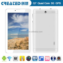 7 inch IPS 1024*600 MTK 8382 Quad core 1.2GHz Android 4.2 silicone case for tablet pc