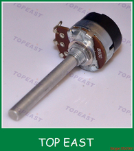 low cost 10k linear 360 degree endless precision rotary potentiometer