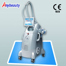 Easy operation cavitation Auto massage roller LED Velashape RF Laser Vacuum slimming machine for weight loss