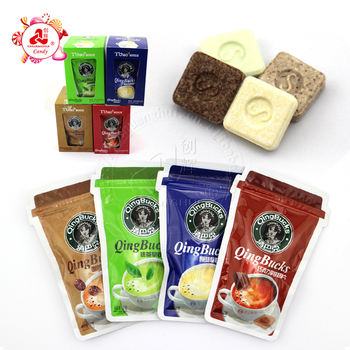 2017 New Hot Sale Star Buck Latte Milk Pressed Candy