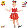 Lucida Carnival costume toddler 82563 mouse girl top selling deluxe party costume supplier