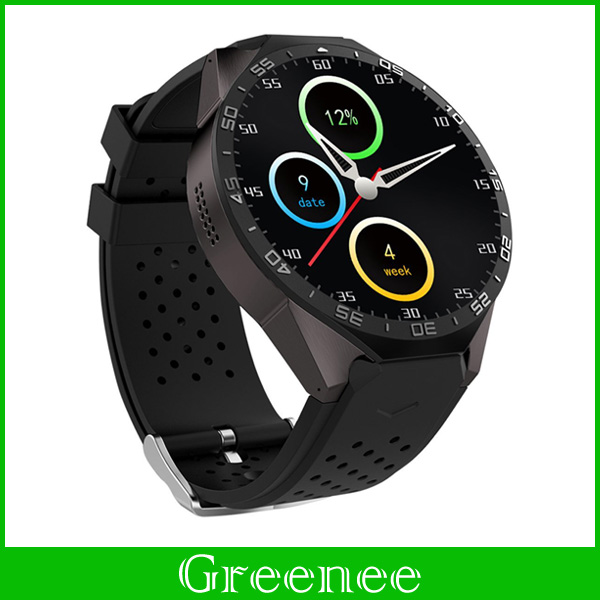 Android 5.1 Smart Watch KW88 ROM 512MB+RAM 4GB Bluetooth 4.0 Smartwatch Wristwatch Support 3G WIFI Google Voice GPS Map Nano SIM