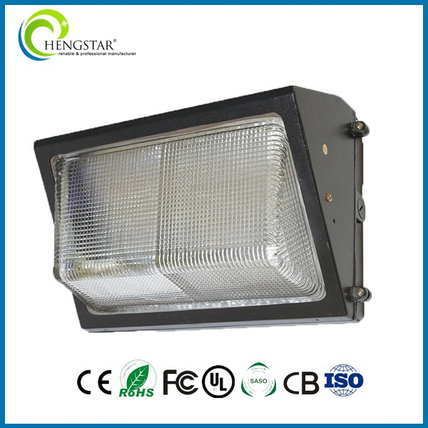 45w outdoor with photocell ip65 ingress protected led wall pack light