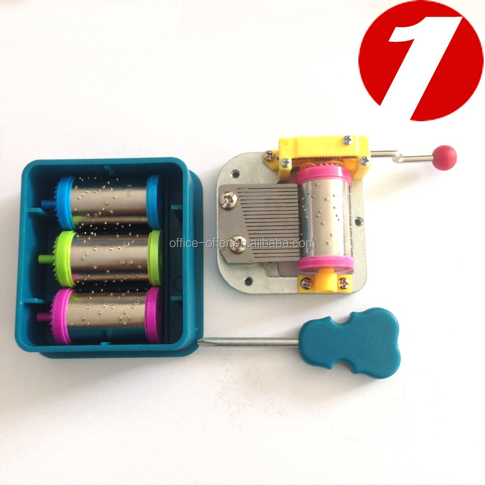 18 Note Diy Hand Crank Music Box Kit For Baby Toy