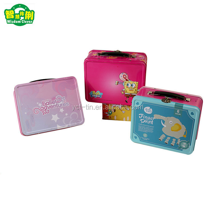 Hot Sale Promotion Gift Custom Tin Lunch Box