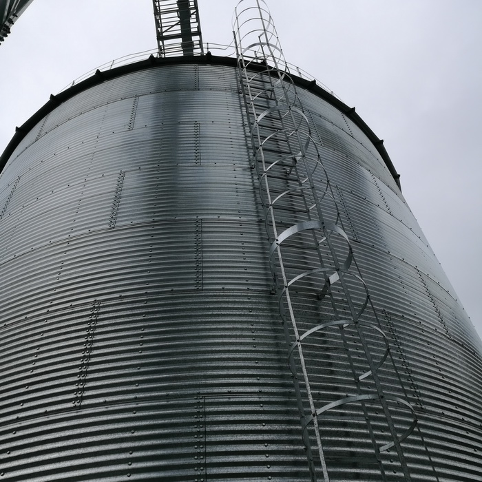 1000t steel structure grain storage silo factory price