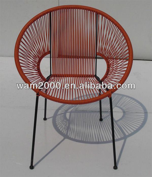 Pe rattan silla de comedor de acapulco sillas de jard n for Sillas rattan comedor