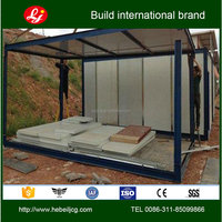 Pre-made flat pack ready made container house