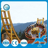 Hot sale theme park funfair high quality family games rides Flying Ufo !