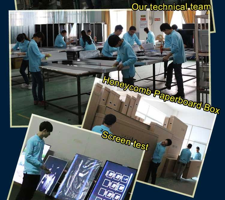 42 inch free standing outdoor advertising led display screen prices
